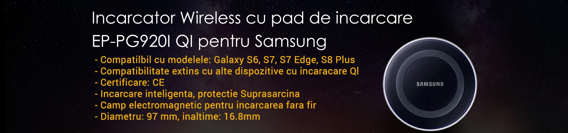 Incarcator Wireless cu pad de incarcare EP-PG920I QI