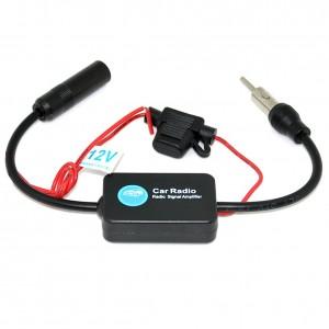 Amplificator semnal antena radio FM 12V Auto