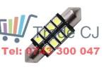 Becuri led Festoon C5W C10W 300 Lumeni Xtra