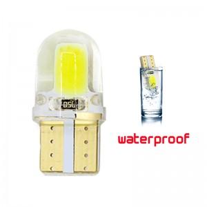Becuri led T10 W5W 80 Lumeni Waterproof