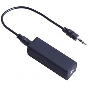 Filtru de zgomot Aux Audio Jack dispozitiv anti interferente pentru Radio sau Player Audio