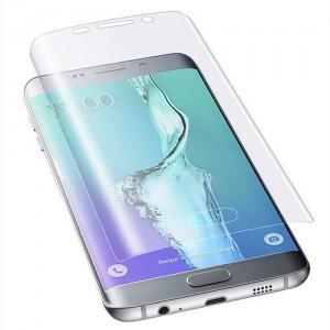 Folie protectoare 3D cauciucata 0.3MM pentru Samsung Galaxy S6 Edge Plus