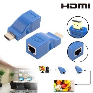 HDMI Extender cu un CAT5e CAT6 1080P 4K TX RX