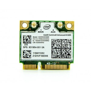 Intel N 6205 WLAN Mini PCI-e Half Height Wireless placa WLan cu 802.11b/g/n