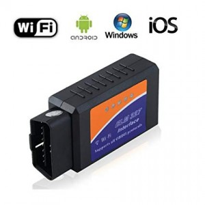 Interfata de diagnoza universala OBD2 ELM327 WIFI pentru Iphone Ipad