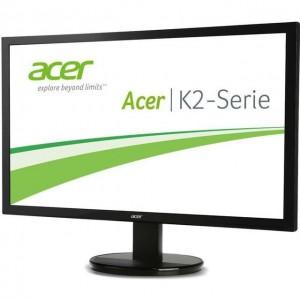 Monitor LED TN Acer 23.8, Wide, FHD, DVI, K242HL, Negru