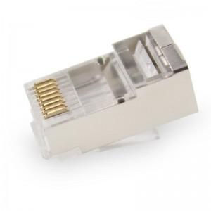 Mufa retea ecranata 8P8C STP RJ 45 pentru FTP, SFTP Cat 6