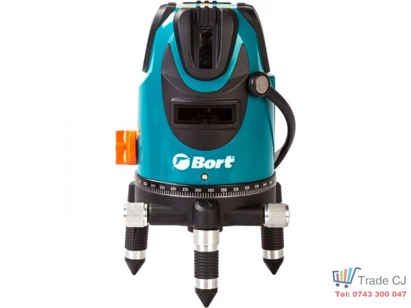 Nivela laser Bort BLN-15-K 15m + Trepied nivela 150cm max