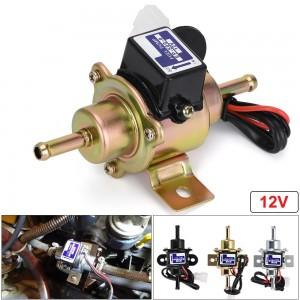 Pompa de combustibil 12V cu presiune joasa pentru carburator, motocicleta, ATV, autoturisme