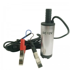 Pompa electrica submersibila 12V motorina apa benzina ulei lichide
