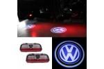 Proiectoare logo Volkswagen Golf Passat Jetta Tiguan EOS portiera - led laser (emblema ,sigla, holograma)