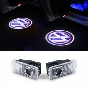 Proiectoare logo Volkswagen Passat portiera - led laser (emblema ,sigla, holograma)