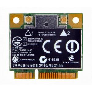 Realtek RTL8191SE Mini PCI-e Half Height Wireless placa WLan cu 802.11b/g/n 2.4 Ghz 150mbps