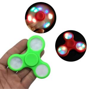 Spinner de mana ABS cu 3x3 lumini led